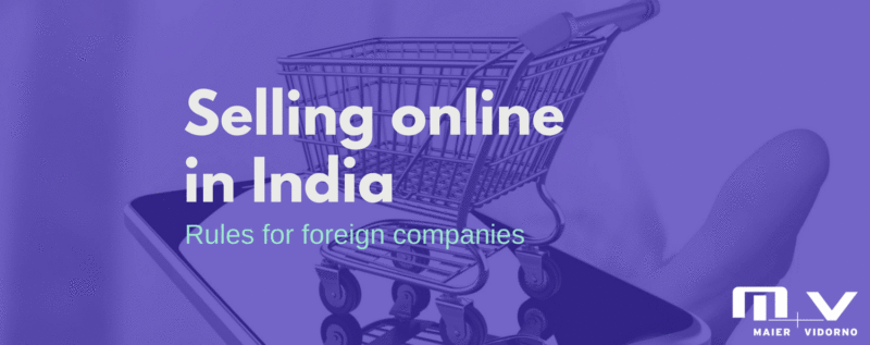 Can I sell online in India directly to Indian customers-M+V Altios