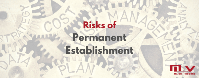 Risks of a Permanent Establishment in India and how can you avoid them-M+V Altios