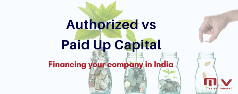What is the difference between Authorized and Paid Up Capital-M+V Altios