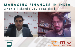 Managing finances in India – What all should you consider-M+V Altios