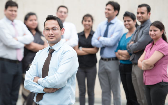 A strong sales team in India is half the price