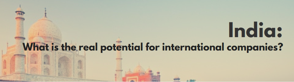Business Potential in India for International companies