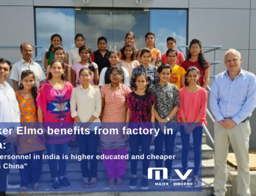 "Fokker Elmo benefits from factory in India: ""Our personnel in India is higher educated and cheaper than in China"""