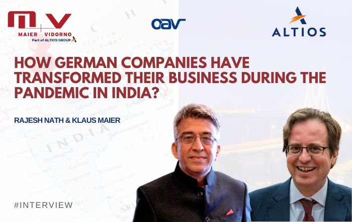 How German companies have transformed their business during the pandemic in India?