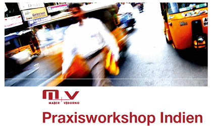 Praxisworkshop Indien