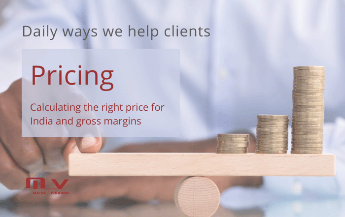 Product Pricing : Ensuring a workable profit margin