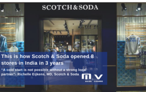This is how Scotch & Soda opened 8 stores in India in 3 years