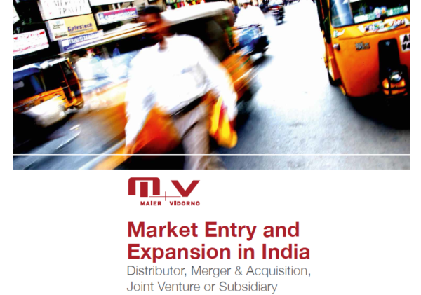 Market Entry Expansion India Zürich